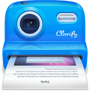 Clarify Icon
